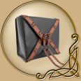 LARP Squire Leather Bag